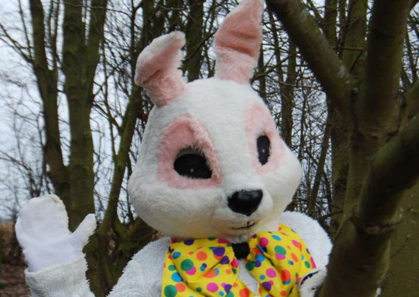 The Big Bunny Hunt at Sacrewell this Easter EMN-160316-120930001