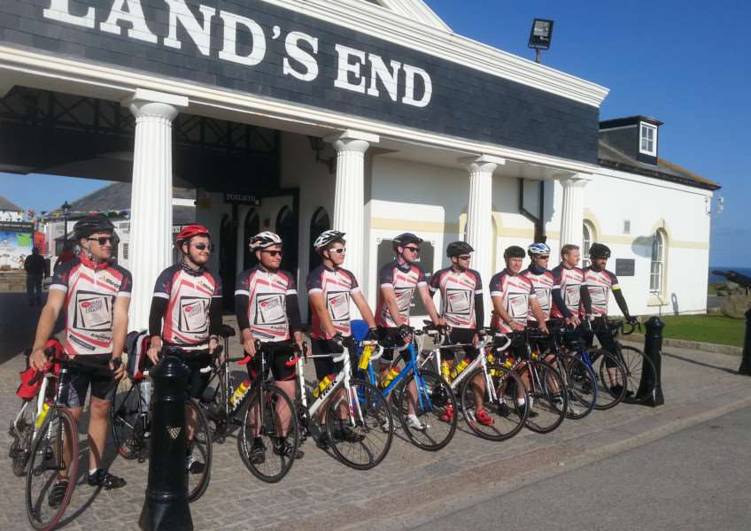 Cyclists raise more than �10,000 in memory of Holly Locke EMN-150917-140705001 EMN-150917-140705001