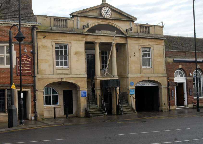Bourne Town Hall.