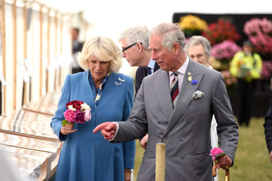 Sandringham Show with the Prince Charles and Camilla in attendance ANL-150729-162403009