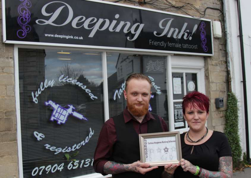 Deeping Ink gets a hygiene rating from South Kesteven District Council. EMN-150412-115426001