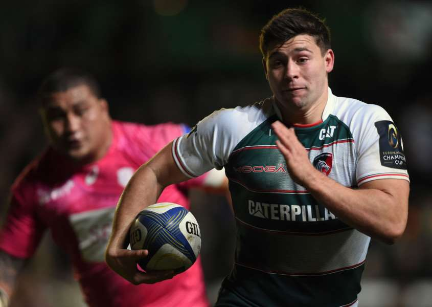 Leicester Tigers' Ben Youngs breaks away during the Champions Cup. Photo: Joe Giddens/PA Wire. EMN-151116-141650001
