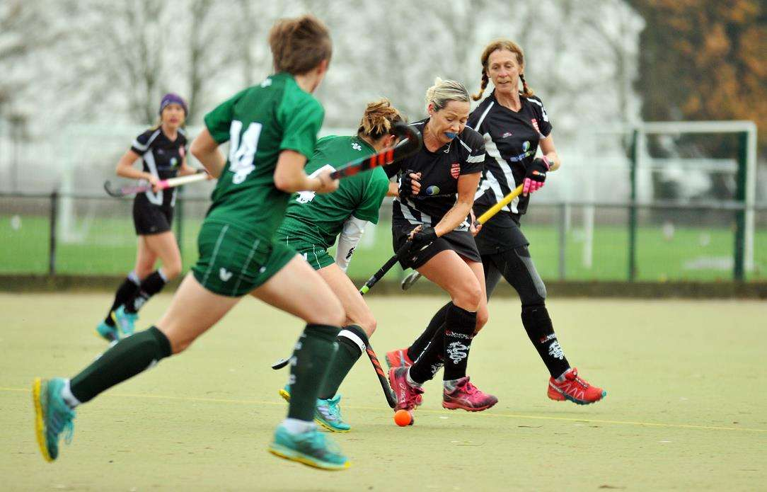 Peele Leisure Centre - Long Sutton v Bourne Deeping ladies hockeyFirst 25 mins (5724964)