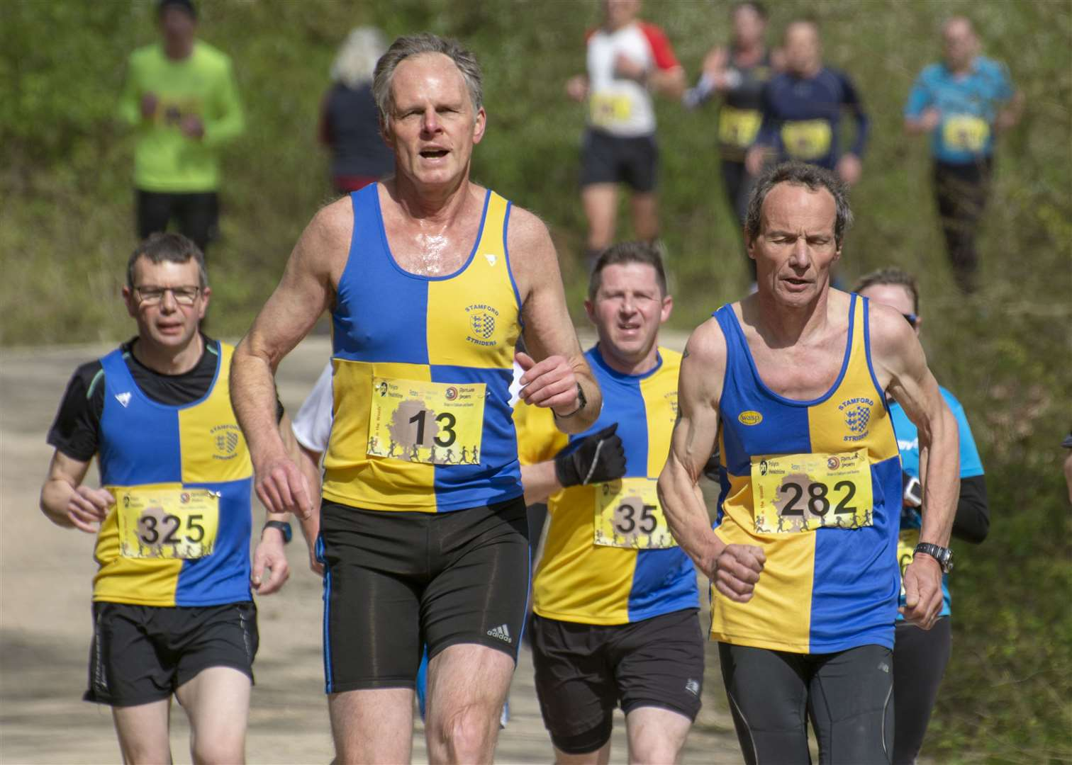 The Rotary Club of Bourne's Run in the Woods 10k on Sunday. Photo: Lee Hellwing (8671554)