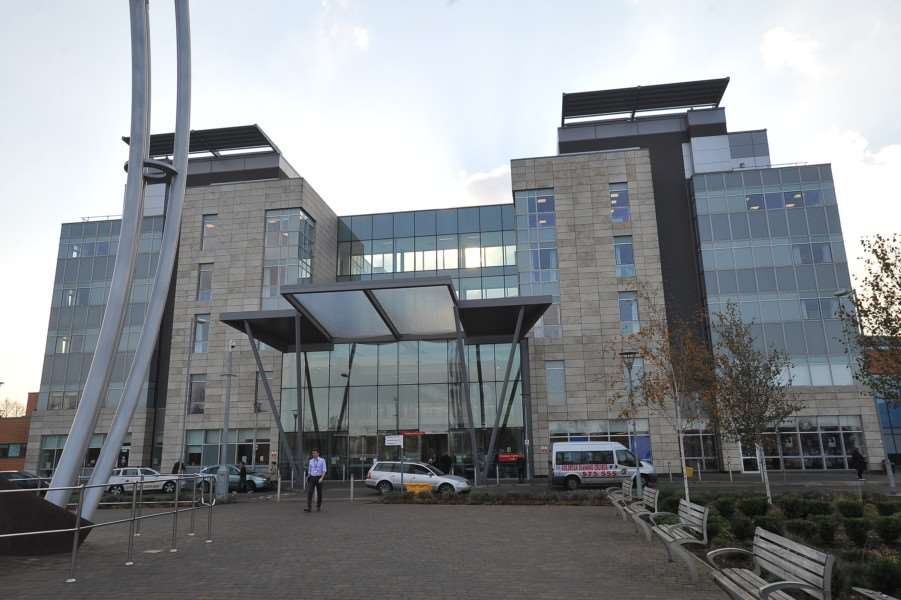 Peterborough City Hospital exteriors