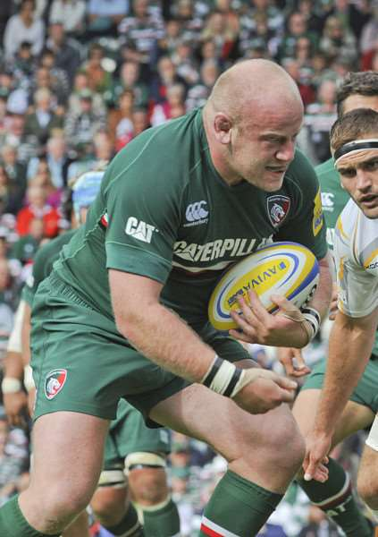 Leicester Tigers prop Dan Cole. Tiger Images EMN-141103-115713001