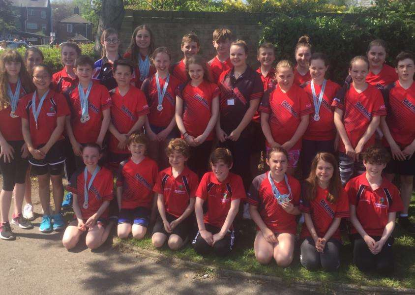 Deepings Swimming Club was the top visiting club at the Tulip Meet, winning 108 medals.