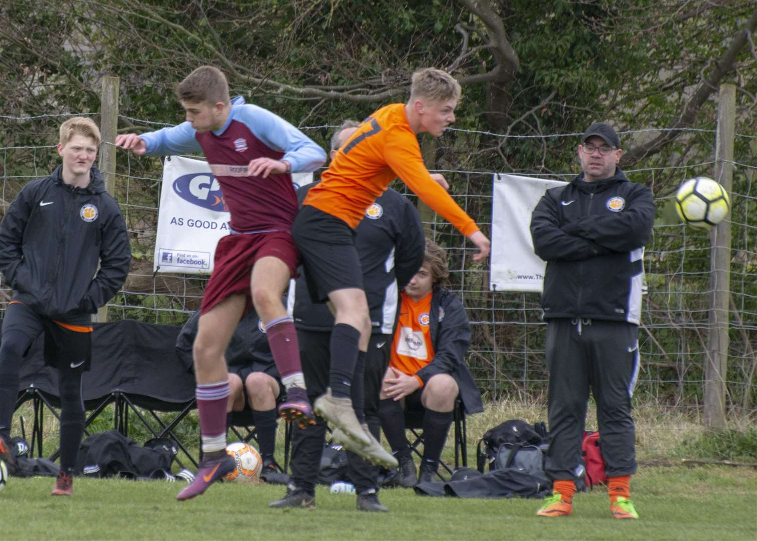 Thurlby Tigers Under 18s were beaten by their Bourne Town Claret counterparts on Sunday. Photo: Lee Hellwing (8765053)