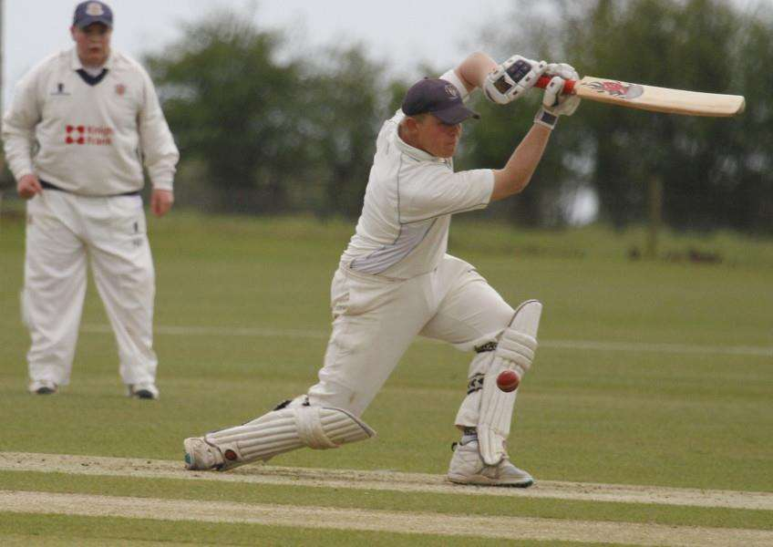 Uppingham Town CC in action against Wisbech. Photo: Geoff Atton EMN-151105-143421001