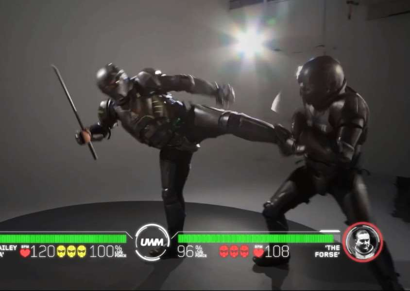 Mortal Kombat brought to life by an Australian company Photo: SWNS