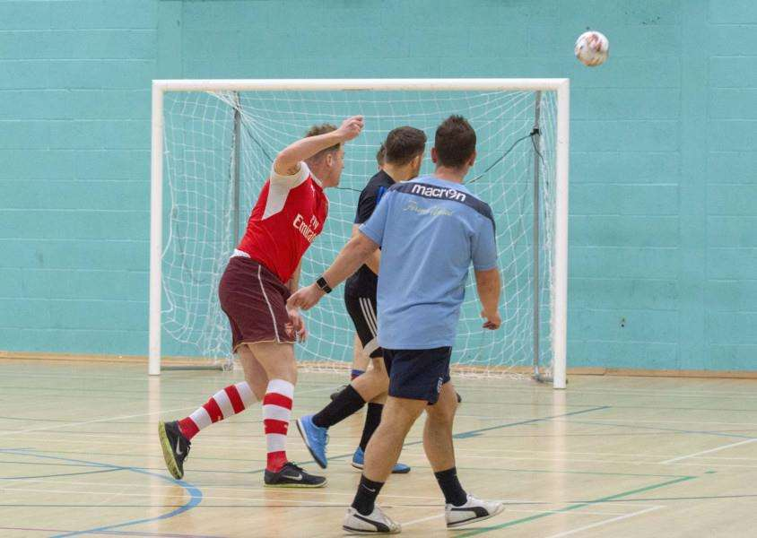 Stamford Indoor Football. By Lee Hellwing.