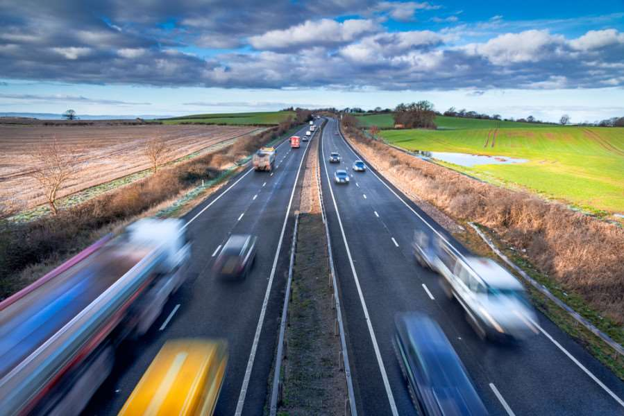 There are more vehicles covering more miles on British roads than ever before