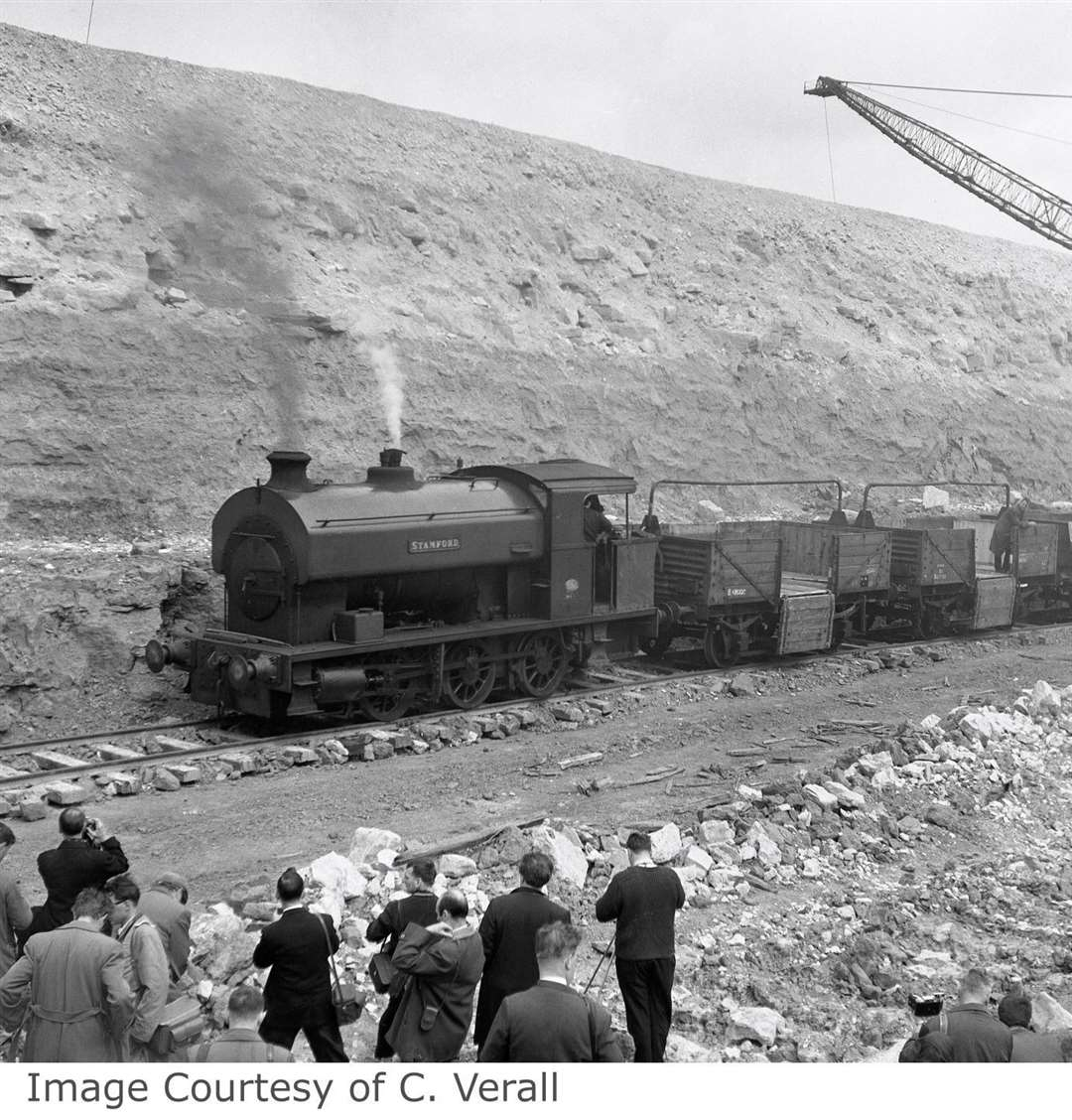 The loco 'Stamford'. copyright[17512] IRS visit S (43876787)