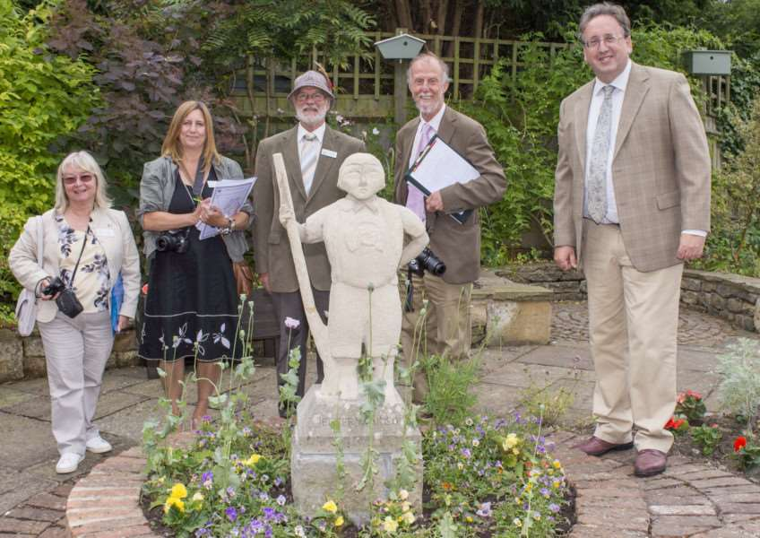 Oakham East Midlands in Bloom judging 2017. By Lee Hellwing.