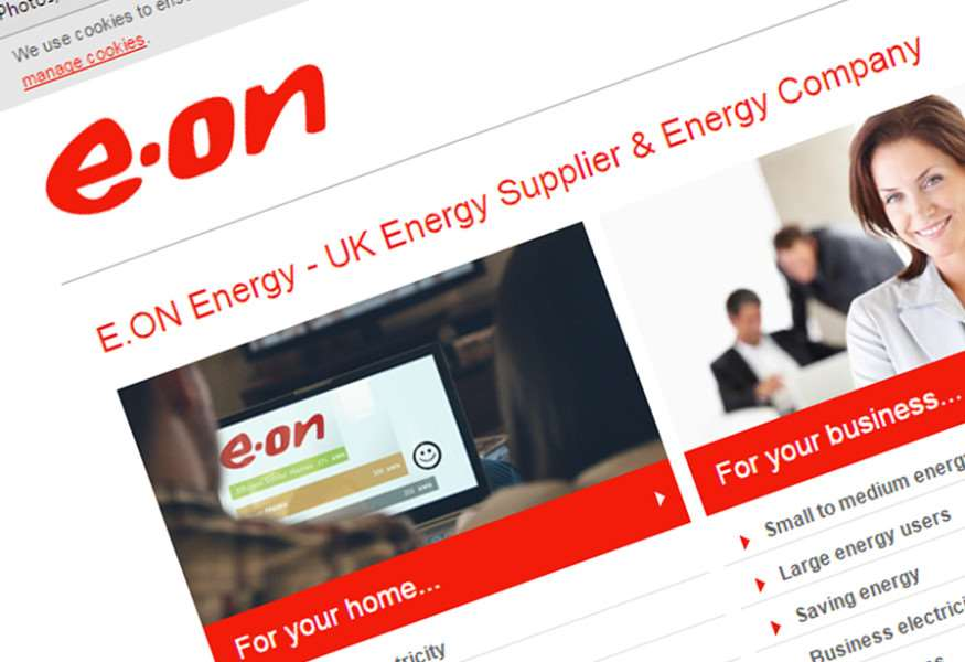 E.ON in hot water over misleading website claims