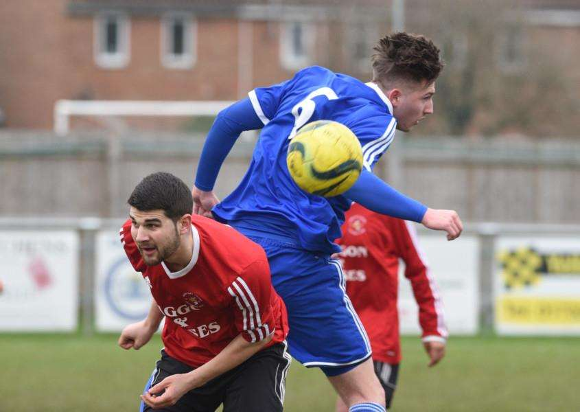 Football action from PSL V Langtoft at PSL. EMN-160213-170256009