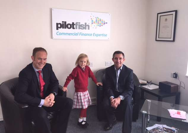 William Bryant and Richard Jones from Pilotfish with Phoebe Crowson EMN-150929-091354001