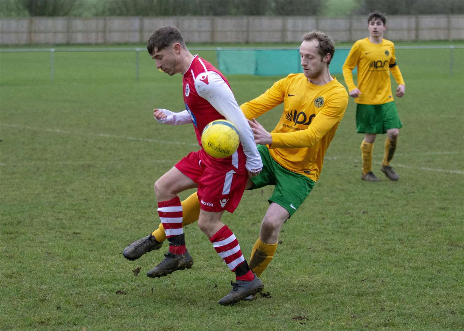 Oakham United ran out 5-2 winners against Langtoft on Saturday. Photo: lee Hellwing (6700243)
