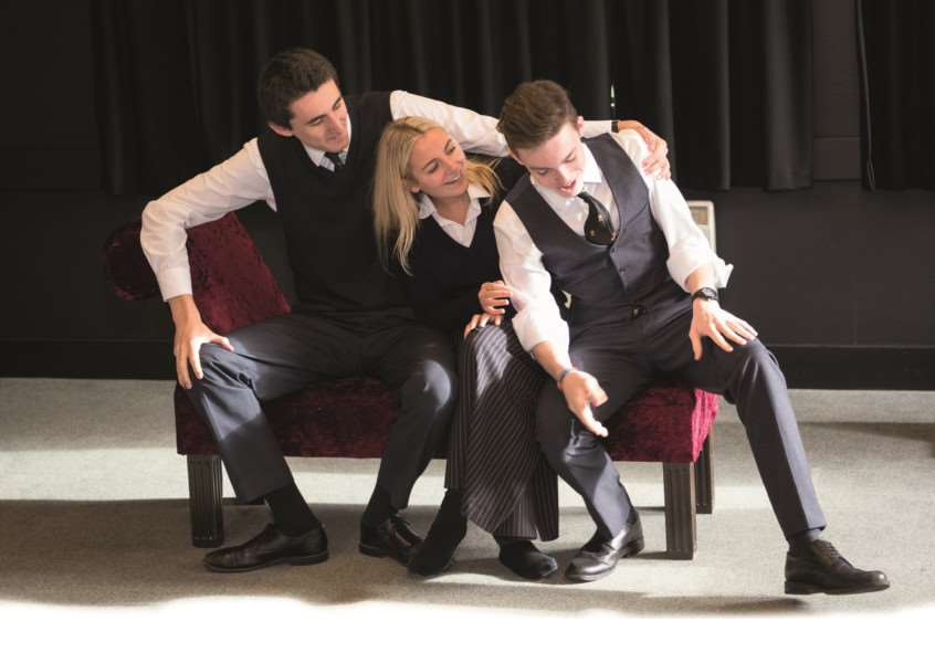 Come and see Oundle School's A Level Theatre Studies pupils perform EMN-161003-152815001