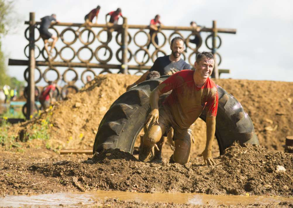Rat Race Dirty Weekend at Burghley House, 2014. EMN-150302-154829001