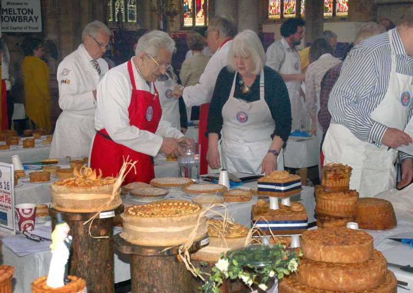 A total of 830 pies were entered across 20 different classes at last year's British Pie Awards held in Melton's St Mary's Church EMN-160128-164203001