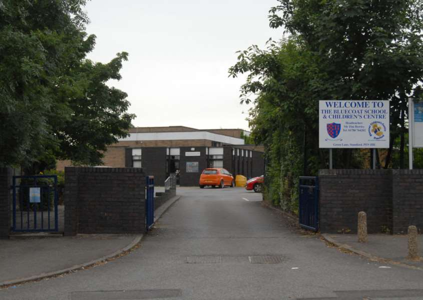 Photo: MSMP210812-018ow'The Bluecoat School and Children's Centre, Stamford. File picture.