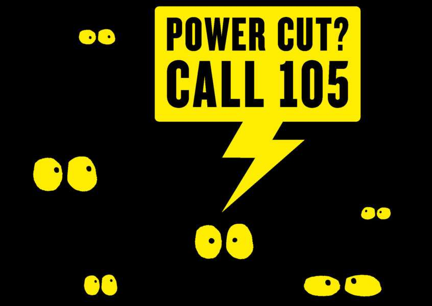 The new, free 105 number is aiming to support people who experience power cuts in their area.