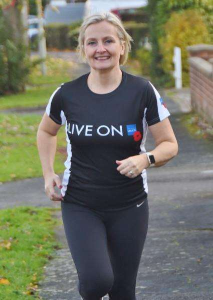 Clare Morley of Stamford training for next London Marathon EMN-160711-160318009
