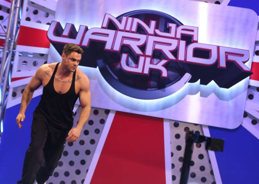 Wittering man Jake Maguire takes part in Ninja Warrior UK. Photo: ITV EMN-150421-114012001