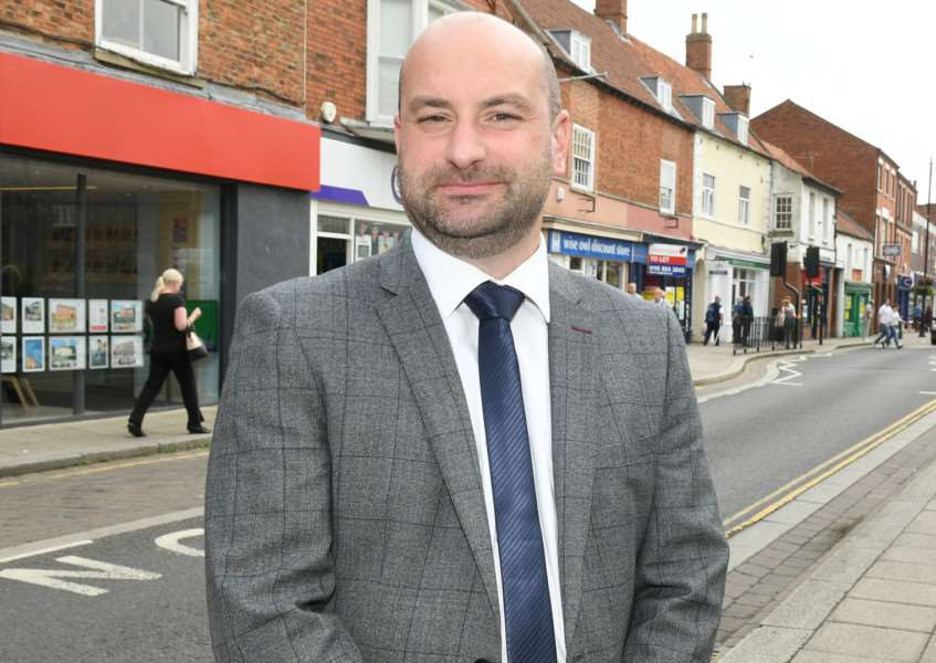 FULL BACKING: Coun Marc Jones, Police and Crime Commissioner for Lincolnshire. Photo by David Dawson.