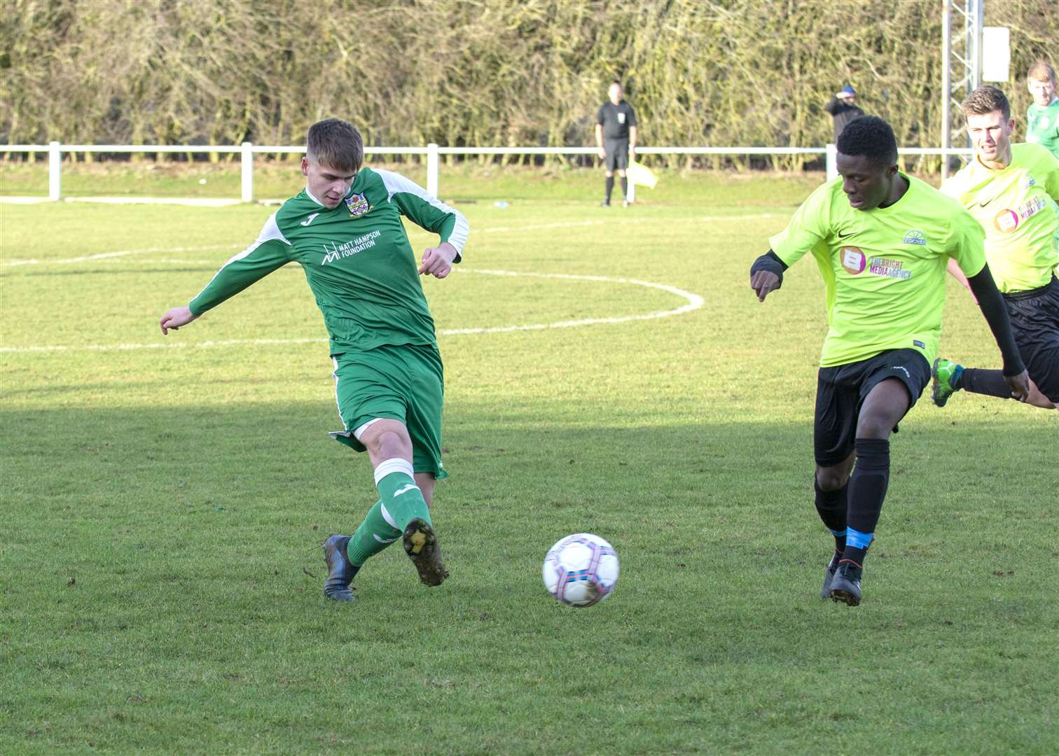 Cottesmore suffered a 3-0 home defeat in their last outing against Desford. Photo: Lee Hellwing (6446702)