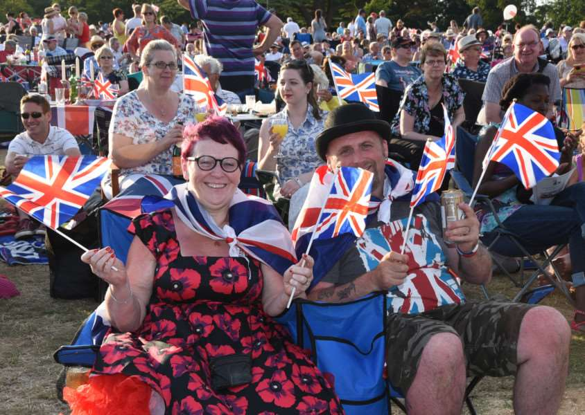 The Battle Proms at Burghley House. EMN-150407-220843009