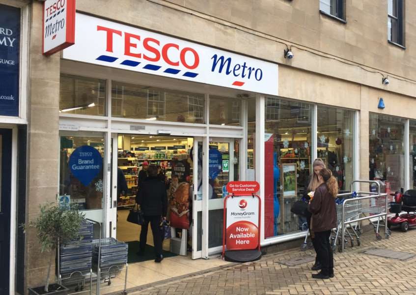 Tesco in High Street, Stamford, is being reduced in size. EMN-161123-144837001