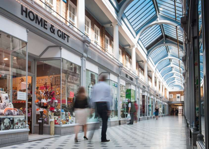 The refurbished Westgate Arcade in Peterborough. EMN-150824-133118001