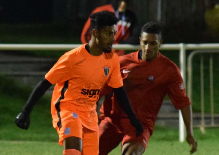 Jones de Sousa scored twice for Blackstones in their defeat at Leicester Nirvana.