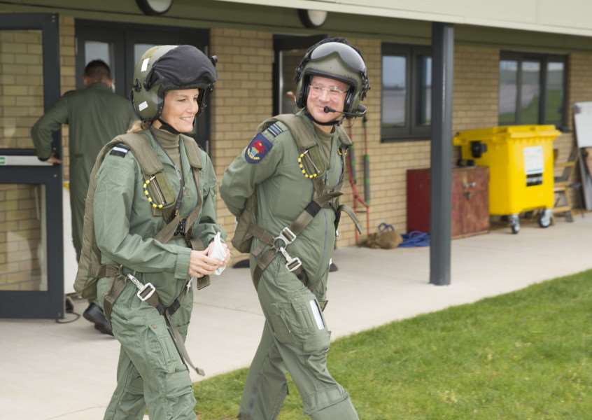Her Royal Highness the Countess of Wessex set to take to the skies over RAF Wittering