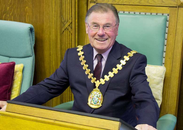 Coun William Webb, new chairman of Lincolnshire County Council.
