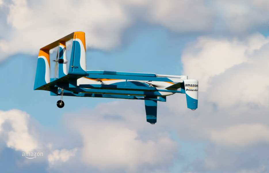The latest version of Amazon's Prime Air drone