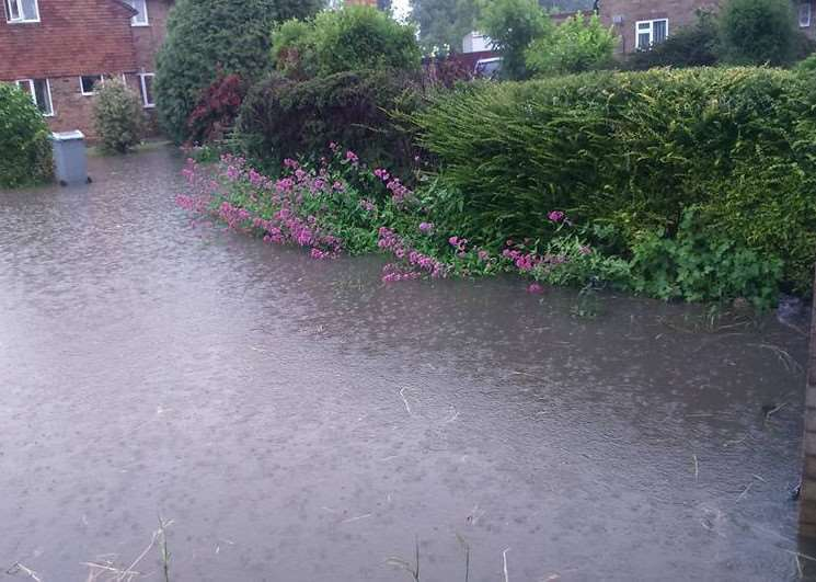 Martyn Kitching's photo of flooding in Harrington Street, Bourne EMN-160614-144259001