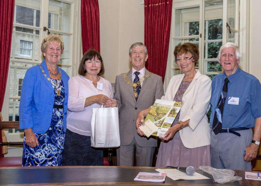 Stamford and District Twinning Association Civic Reception held to welcome residents of Kutna Hora. By Lee Hellwing.