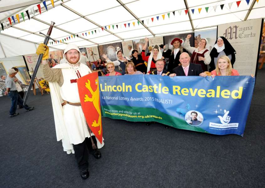 The castle team will be launched their campaign at this year's Lincolnshire Show
