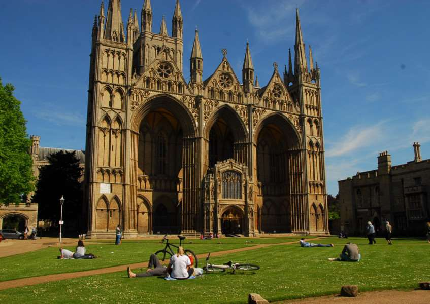 Peterborough Cathedral and Cathedral Precincts. Photo: Alan Storer