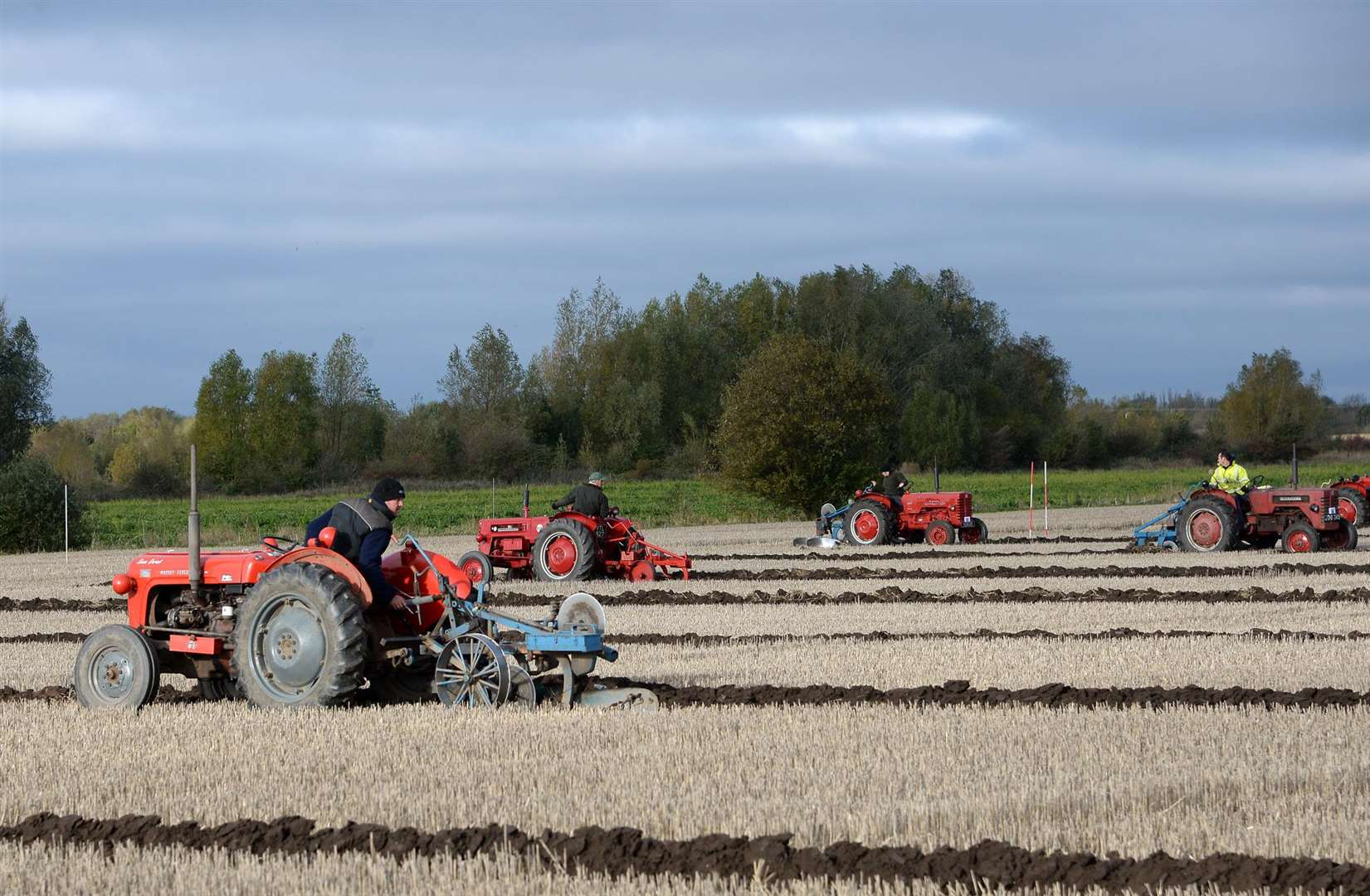The Deeping Ploughing Match took place on Saturday, October 27 Photo: David Pearson