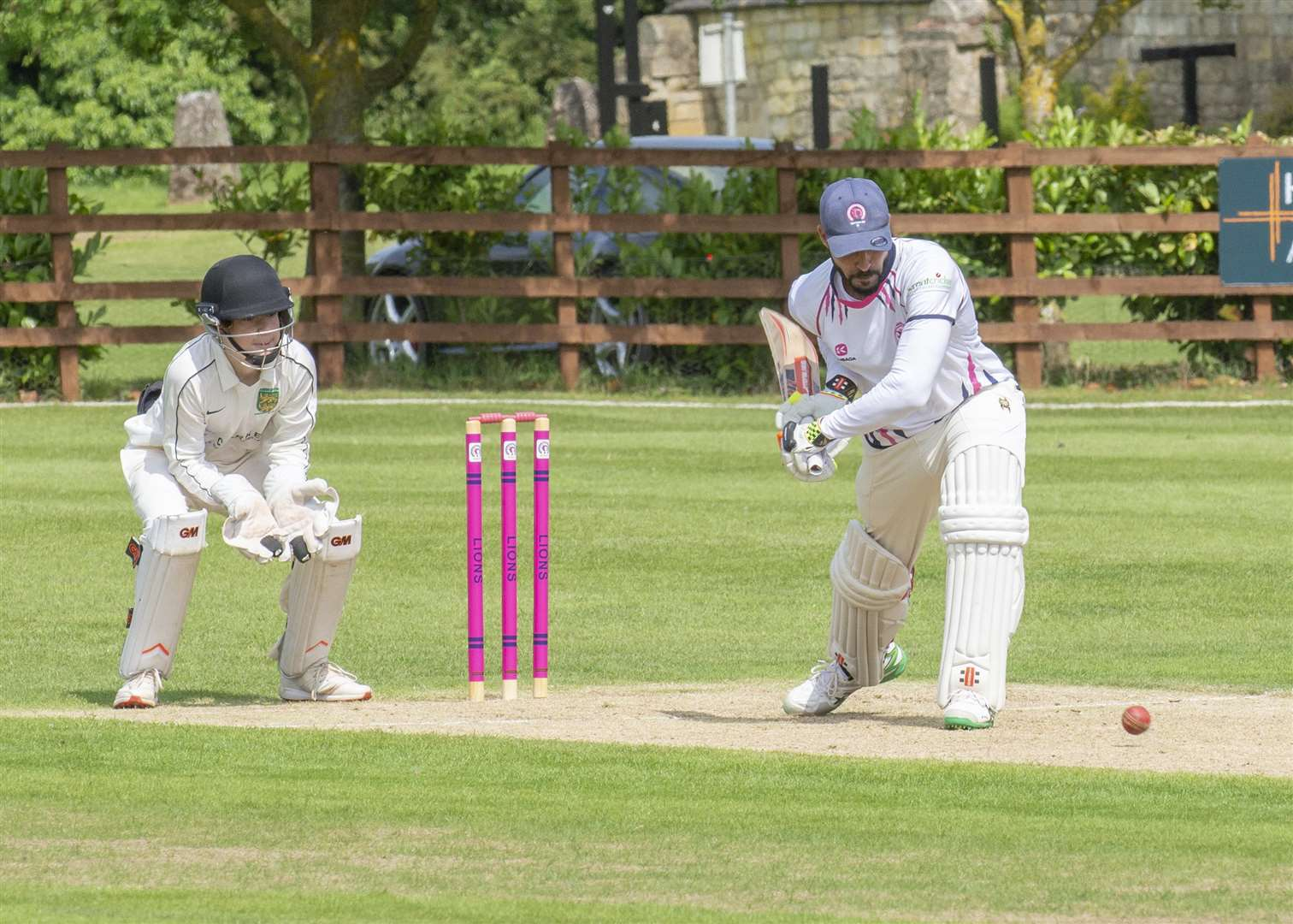 Zeeshan Manzoor was in fine form for table-topping Ketton Sports. Photo: LEE HELLWING (3563481)