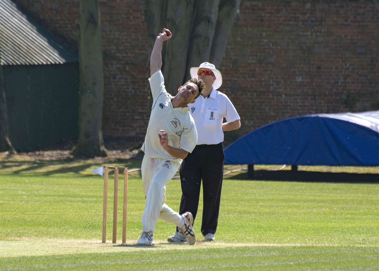 Bourne suffered a narrow two-run defeat against Sleaford on Saturday. Photo: Lee Hellwing (8957148)