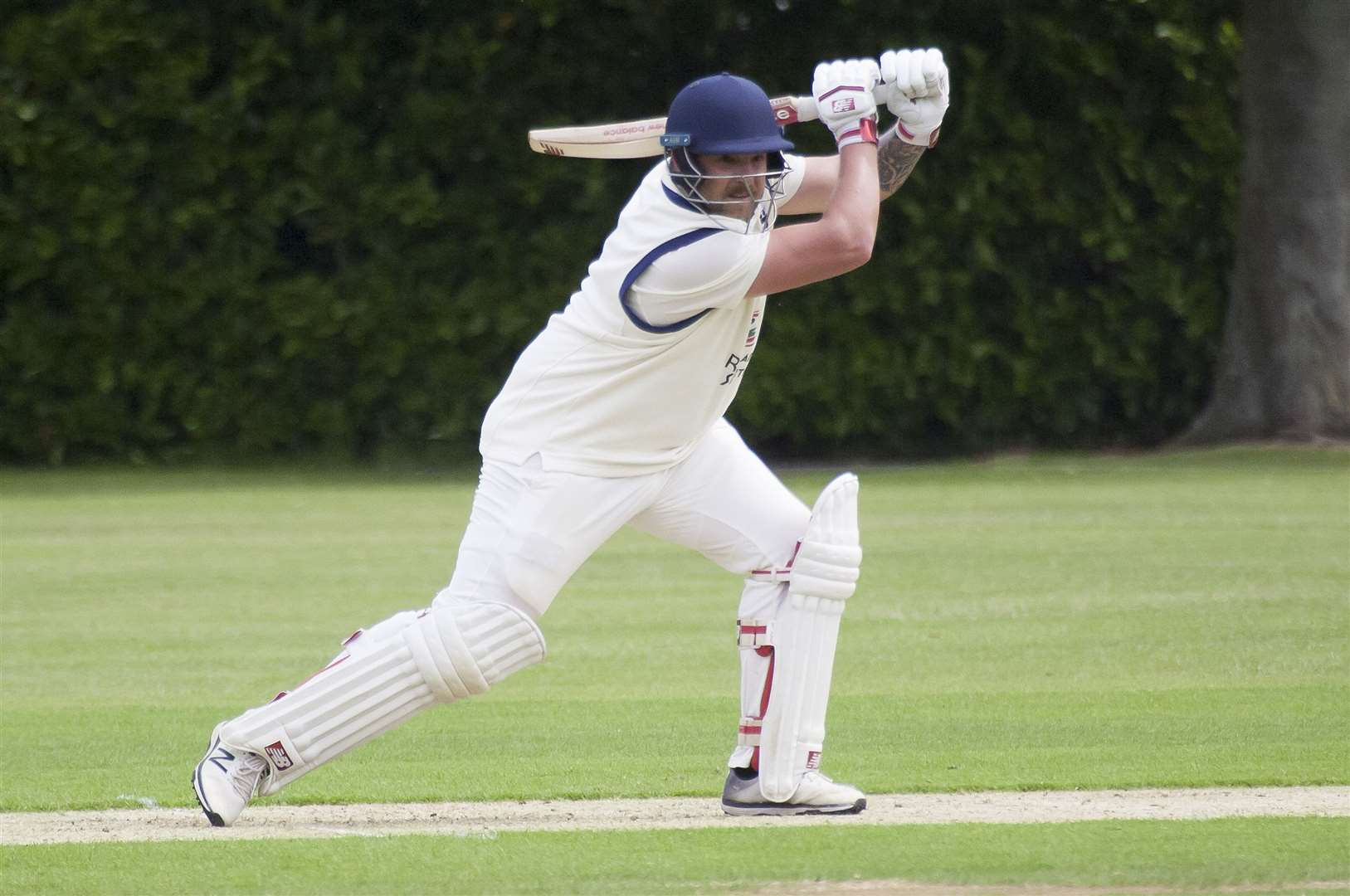 Cricket Action. Bourne v Market Deeping.. (11578622)