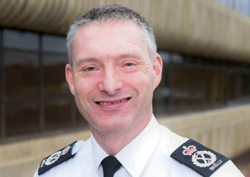 NEW BEAT: Lincolnshire Police Chief Constable Bill Skelly. Photo supplied.