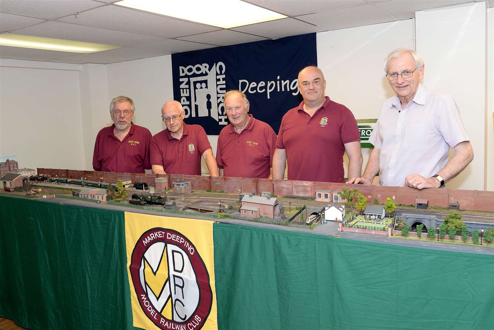 Members of the Market Deeping Model Railway Club (11391094)