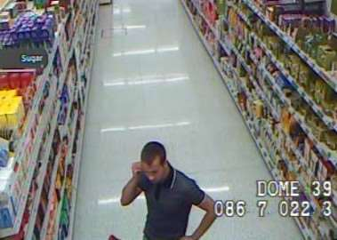 CCTV released after a theft from Sainsbury's in Ryhall Road, Stamford, on July 20, 2015. Incident 346 of July 20. EMN-150728-151027001