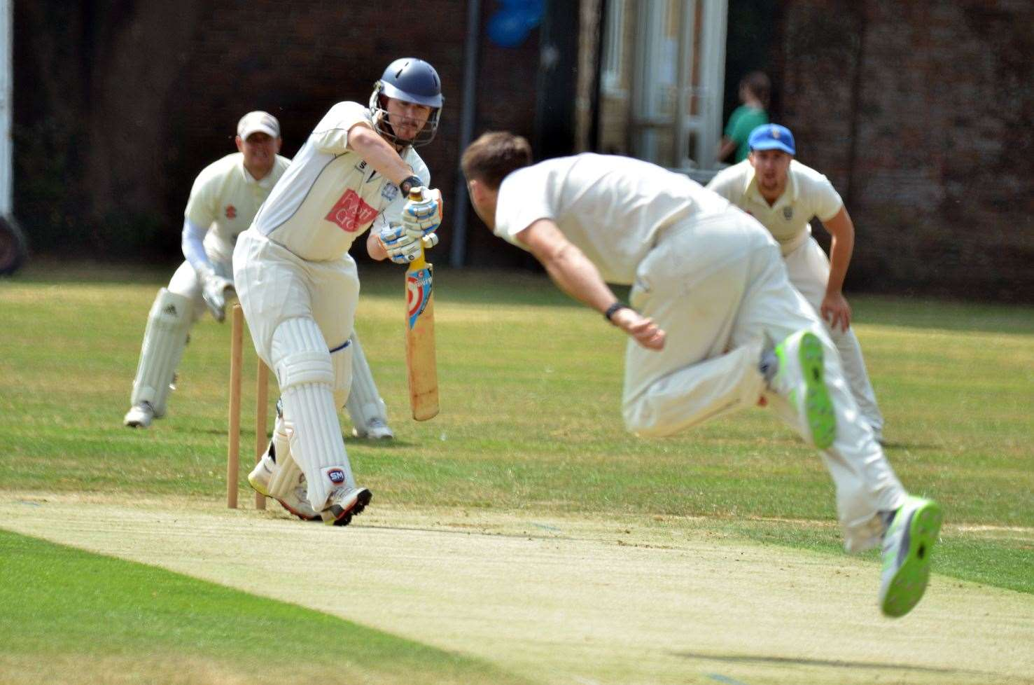 Abbey Lawn - Bourne v Bracebridge Heath cricket